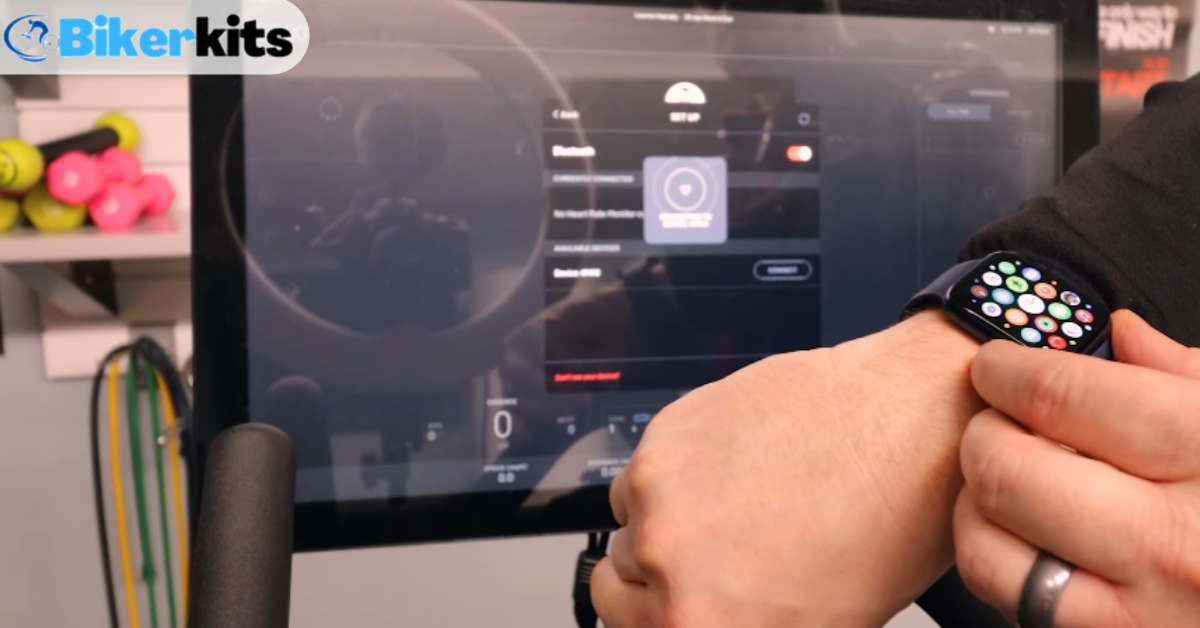 how to connect apple watch to peloton